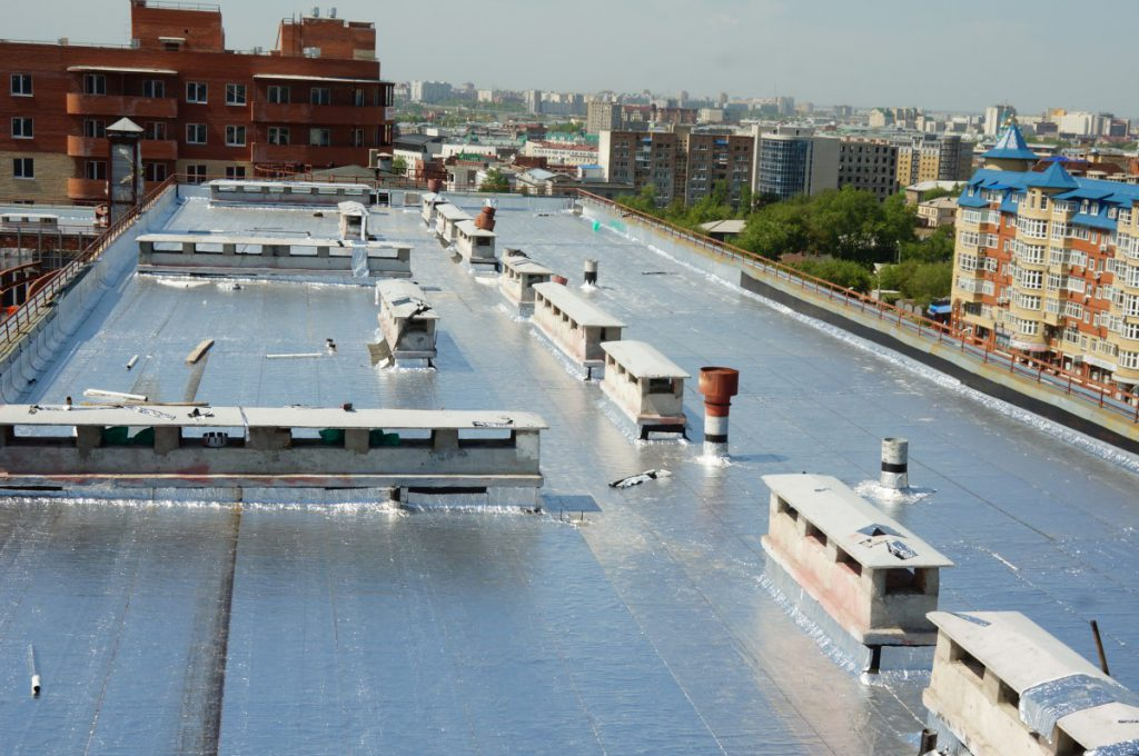 Flat roofs (5 photos)